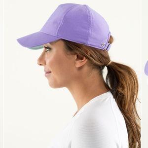 Lululemon Classy Cap Power Purple/Aquamarine Hat